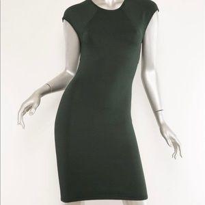 ALEXANDER WANG Womens Dark Green Bodycon